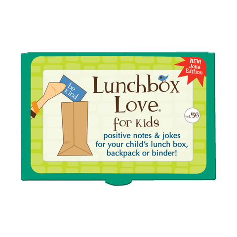 Lunchbox Love® For Kids: Volume 56 (JOKES)