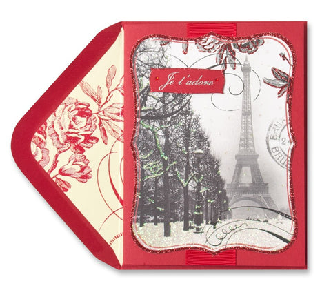 Love in Paris: PAPYRUS Greeting Card