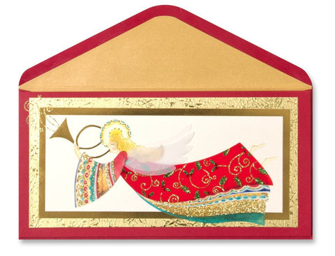 PAPYRUS Christmas Handmade Angel Greeting Card
