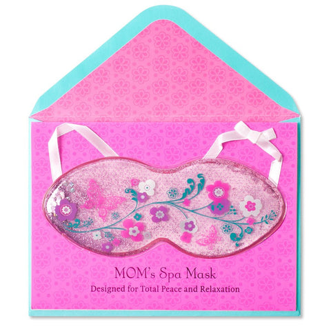 PAPYRUS Spa Mask Mother's Day Card | CuteKidStuff.com