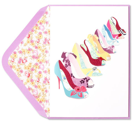 PAPYRUS Never Enough Shoes Mother's Day Card | CuteKidStuff.com