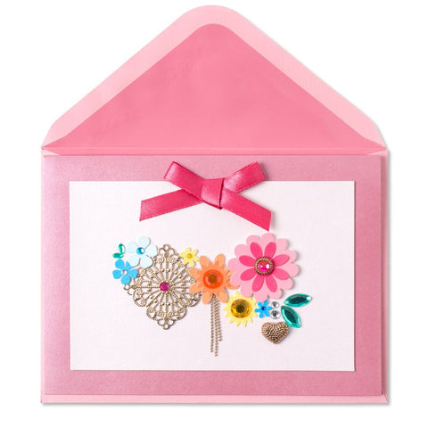PAPYRUS Charm & Flower Cluster Mother's Day Card | CuteKidStuff.com