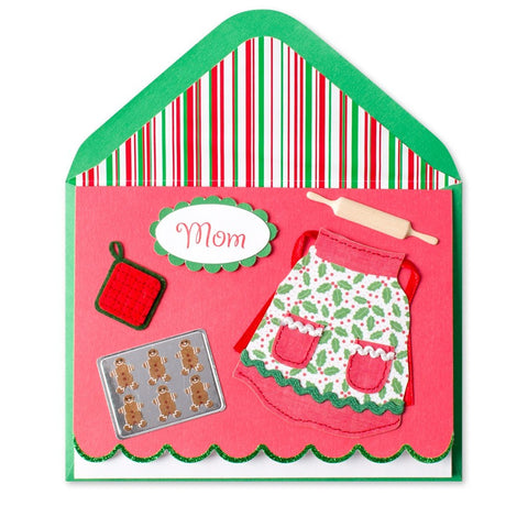 Holiday Apron (For Mom): PAPYRUS Greeting Card | CuteKidStuff.com