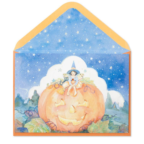Starry Night Halloween: PAPYRUS Greeting Card