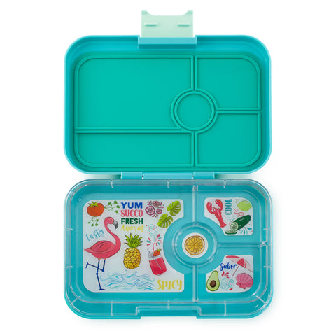 Yumbox Tapas - Antibes Blue (4-Compartment Tray)