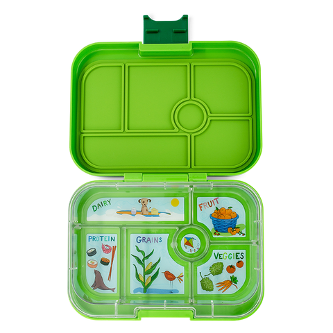 Yumbox: Avocado Green (6 Compartments)