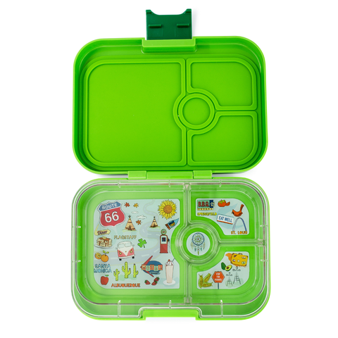 Yumbox: Avocado Green (4 Compartments)