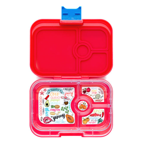 Yumbox Panino: Aztec Red (4 Compartments)