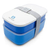 Bentgo All-in-One Stackable Bento Lunch Box: Blue