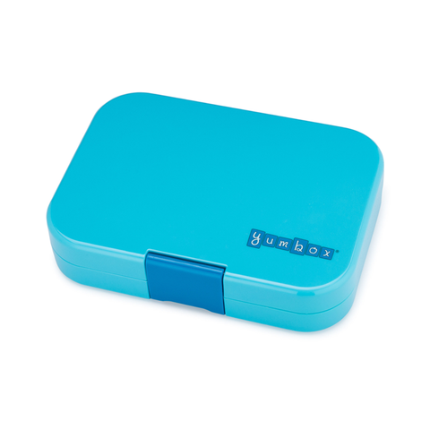 Yumbox Outer Box Only: Blue Fish Original (6 Compartments)