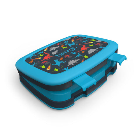 Bentgo Kids Prints - Children's Bento Box: Dinosaur