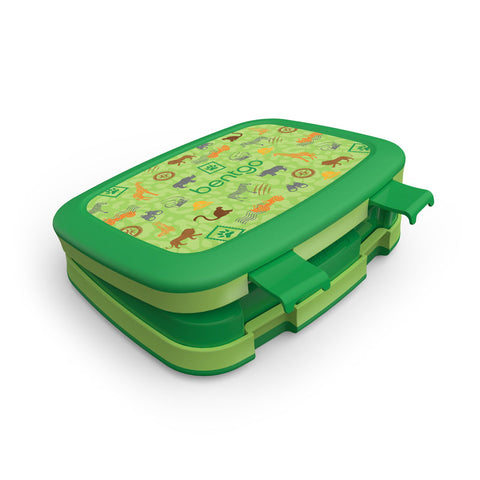 Bentgo Kids Prints - Children's Bento Box: Safari
