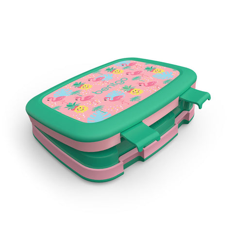Bentgo Kids Prints - Children's Bento Box: Tropical