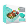 Bentgo Fresh - LARGER 4-Compartment Leakproof Lunch Box: Aqua