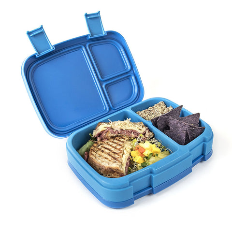 Bentgo Fresh - LARGER 4-Compartment Leakproof Lunch Box: Blue