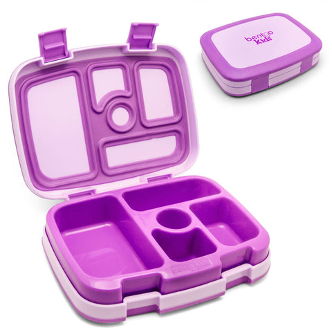 Bentgo Kids - Children's Bento Box: Purple