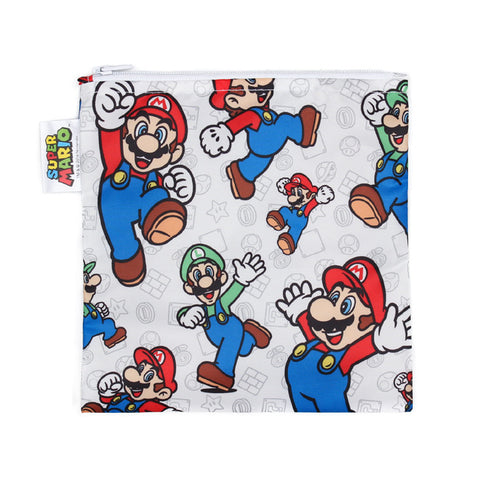 Nintendo Large Reusable Snack Bag - Super Mario & Luigi