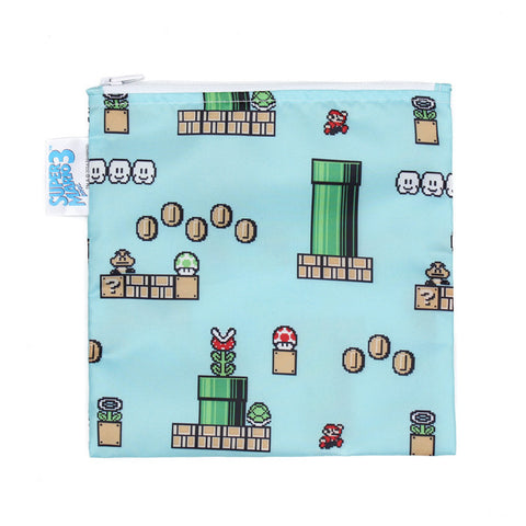 Nintendo Large Reusable Snack Bag - Super Mario 8-Bit