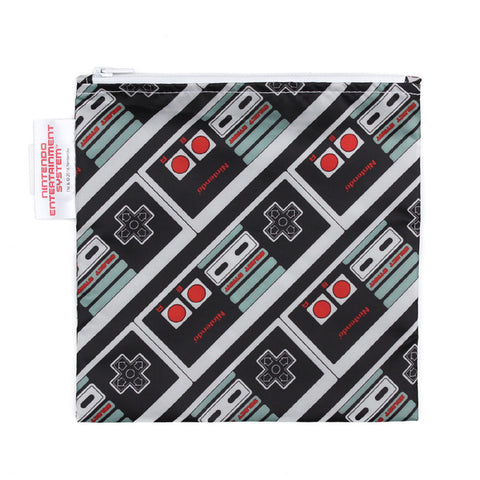 Nintendo Large Reusable Snack Bag - NES GameBoy Controller