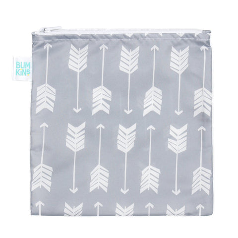 Bumkins Large Reusable Snack Bag: Arrows