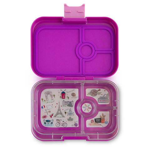 Yumbox: Bijoux Purple (4 Compartments)