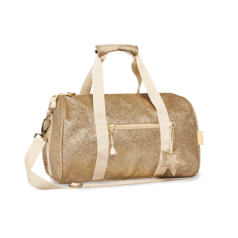 Bixbee Duffle Bag: Sparkalicious Gold (Medium)