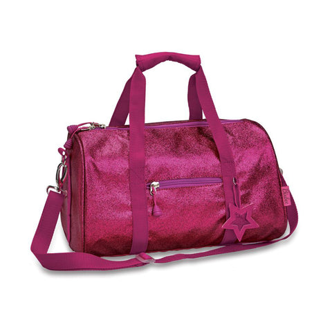 Bixbee Duffle Bag: Sparkalicious Ruby Raspberry (Medium)