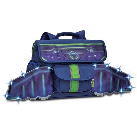 Bixbee Backpack: LED Space Racer (Small)