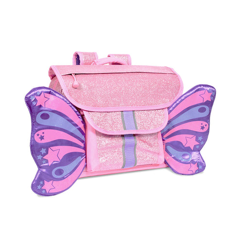 Bixbee Backpack: Sparkalicious Pink Butterflyer (Small)