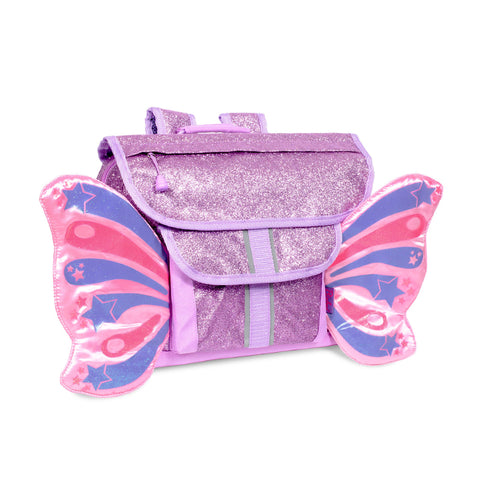 Bixbee Backpack: Sparkalicious Purple Butterflyer (Small)