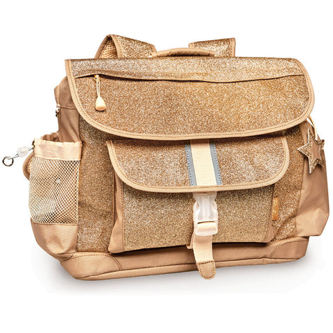 Bixbee Backpack: Sparkalicious Gold (Medium/Large)