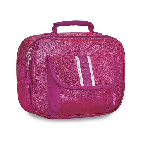 Bixbee Insulated Lunchbox: Sparkalicious Ruby Raspberry