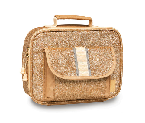 "Bixbee ""Sparkalicious"" Kids Insulated Lunchbox - Gold"