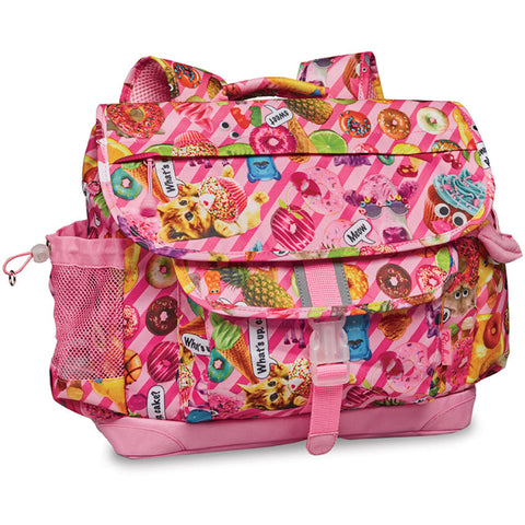 "Bixbee ""Funtastical"" Kids Backpack - Pink"