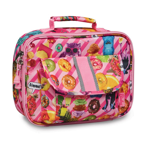 "Bixbee ""Funtastical"" Kids Insulated Lunchbox - Pink"