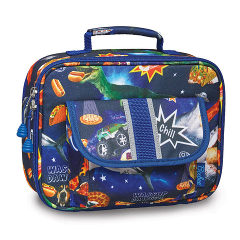 "Bixbee ""Meme Space Odessey"" Kids Insulated Lunchbox"
