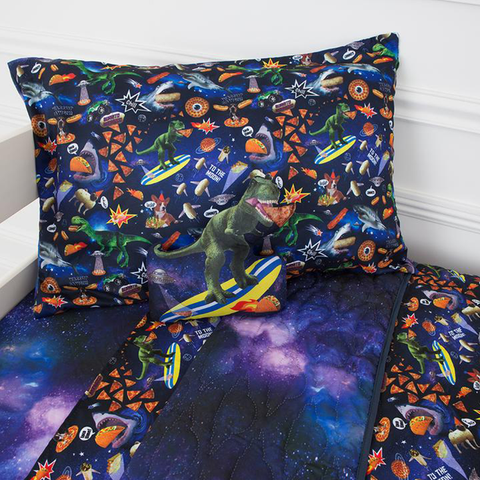 Bixbee Bedding Set: Meme Space Odyssey