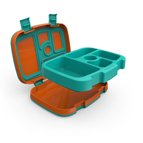 Bentgo Kids Brights - Children's Bento Box: Orange