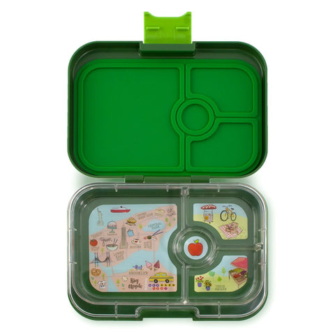 Yumbox: Brooklyn Green (4 Compartments)