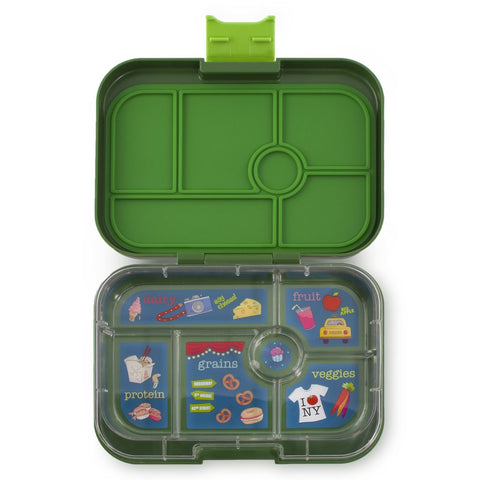 Yumbox: Brooklyn Green (6 Compartments)