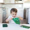 Bumkins Reusable Snack Bags (3 pack): Harry Potter Slytherin™