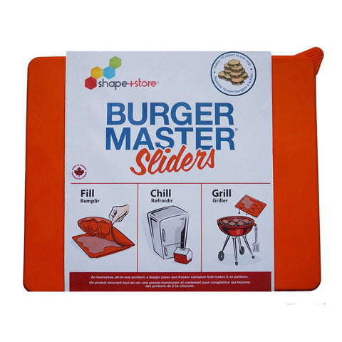Burger Master Sliders | CuteKidStuff.com
