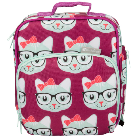 Bentology Insulated Lunch Tote: Kitty