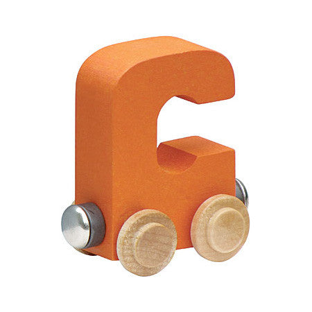 "Maple Landmark Letter ""C"" NameTrain 