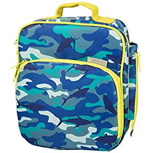 Bentology Insulated Lunch Tote: Shark Camo