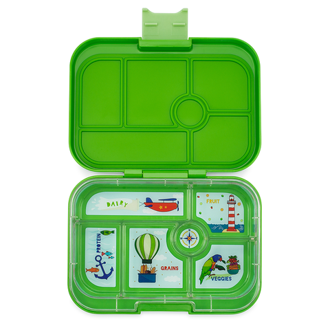 Yumbox: Cilantro Green (6 Compartments)