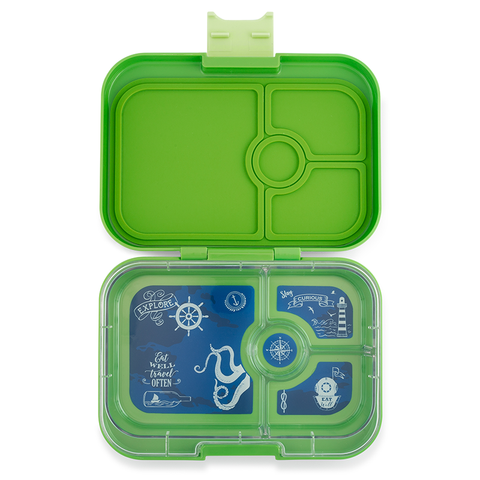 Yumbox: Cilantro Green (4 Compartments)