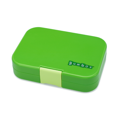 Yumbox Outer Box Only: Cilantro Green Original (6 Compartments)