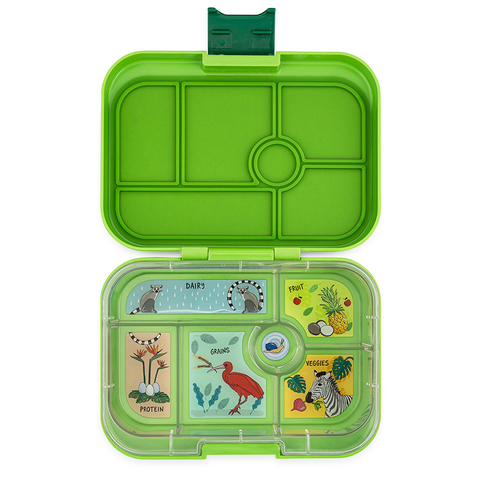 Yumbox: Congo Green (6 Compartments)