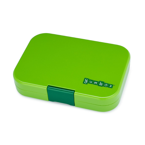 Yumbox Outer Box Only: Congo Green Panino (4 Compartments)